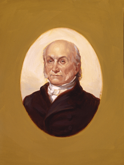 Portrait of Adams