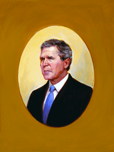 Portrait of Bush