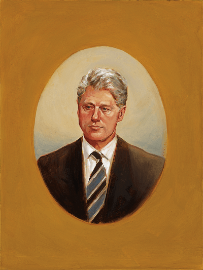 Portrait of Clinton