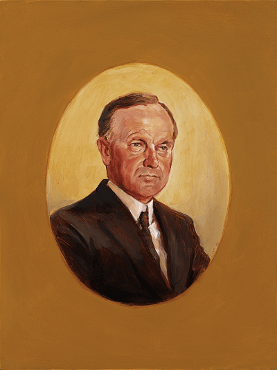 Portrait of Coolidge