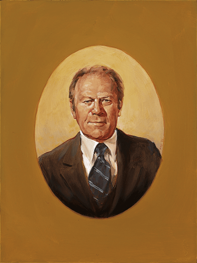 Portrait of Ford