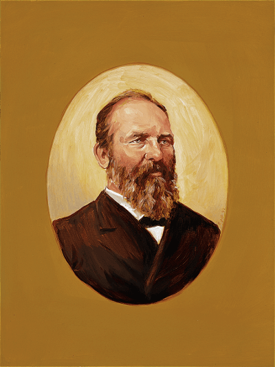 Portrait of Garfield
