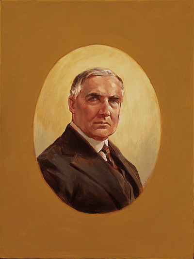 Portrait of Harding