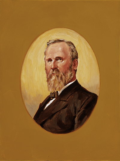 Portrait of Hayes