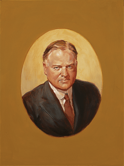 Portrait of Hoover