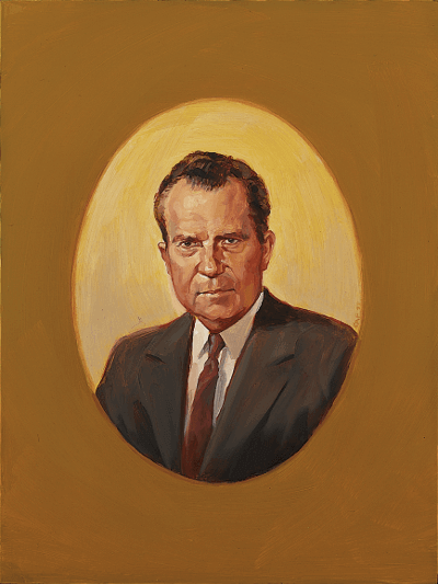 Portrait of Nixon