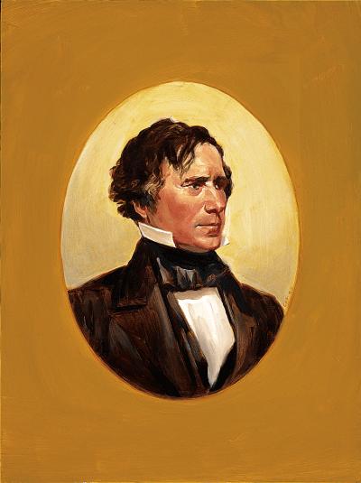 Portrait of Pierce