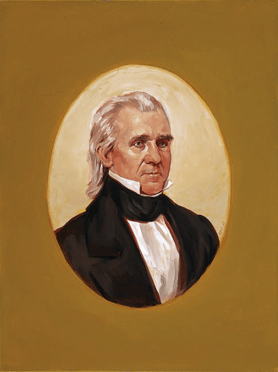 Portrait of Polk