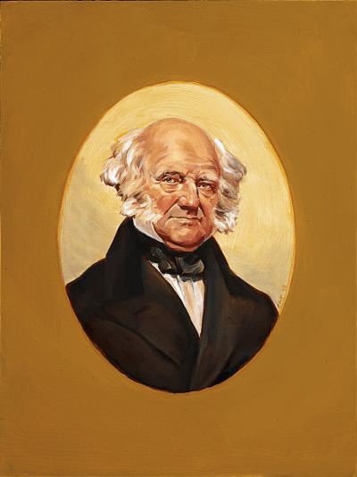 Portrait of Van Buren