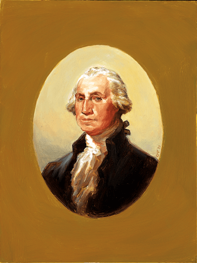Portrait of Washington