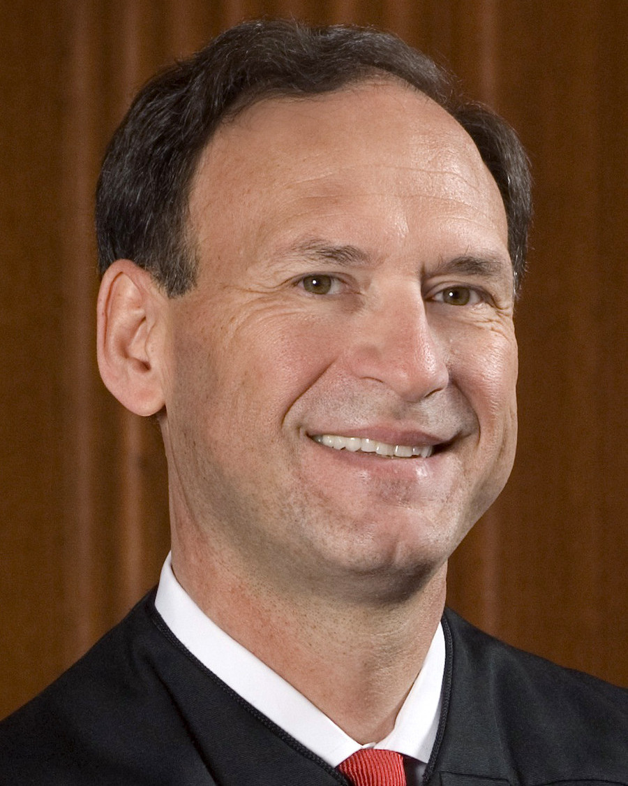 Portrait of Alito