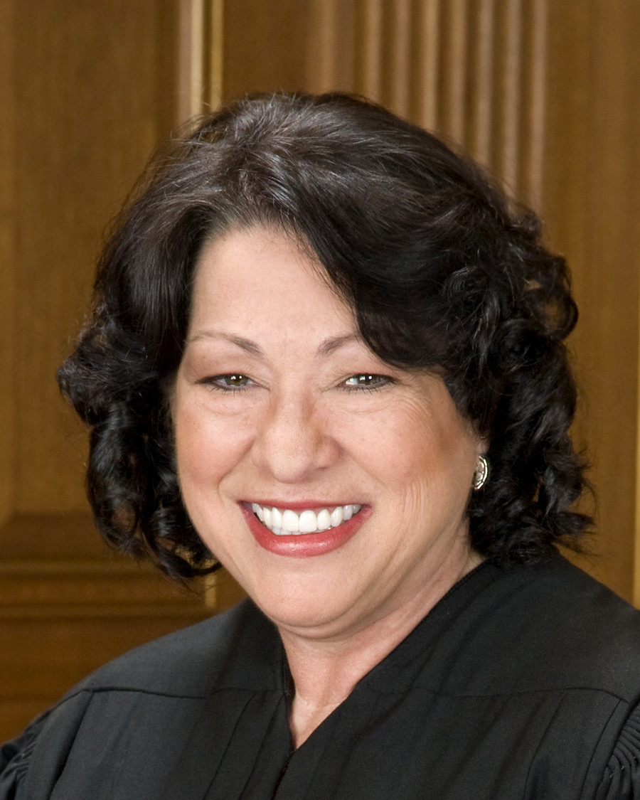Portrait of Sotomayor